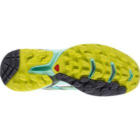 Salomon Wings Pro 2 Shoes Dam lucite gre/bubble blue/gecko